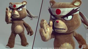 Sensei Bear by redAnDblack25