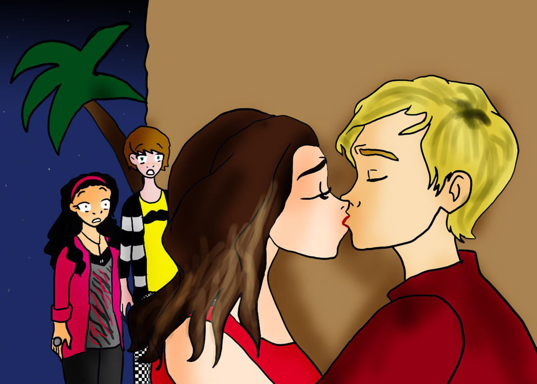 Auslly Kiss by LittleZing