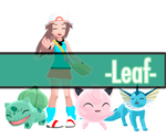 [mmd] -Pokemon Leaf-