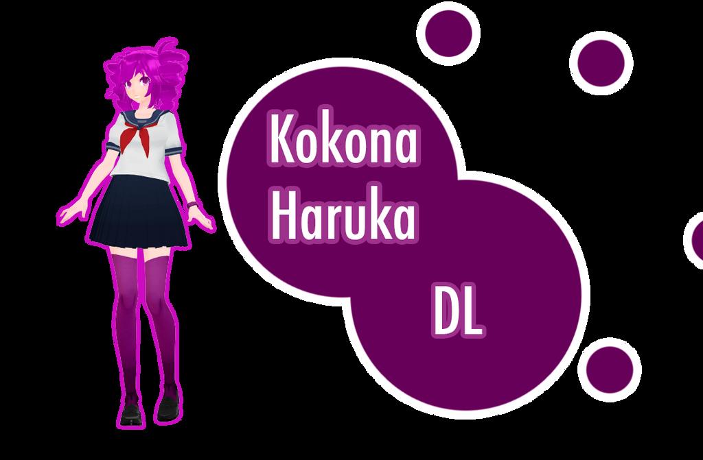 [download] TDA Kokona Haruka by FiciAxe