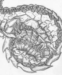 Alien Dragon sketch