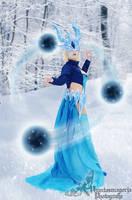 Frozen Syndra Cosplay by Blackbiene