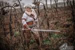 Ciri on the hunt