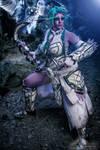 Nightwarrior Tyrande by DancingFoxCosplay