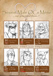 Sexiest Male OCs Meme by CoralSnake