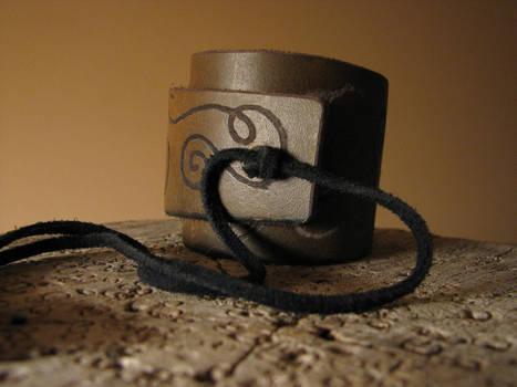 Elven Style Leather Bracelet