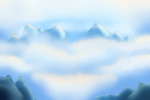 Above the Clouds - Environment background