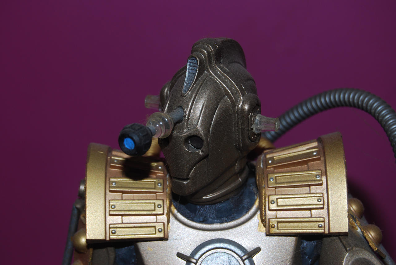 Cyber Dalek Doctor Who by Shenron-Customs