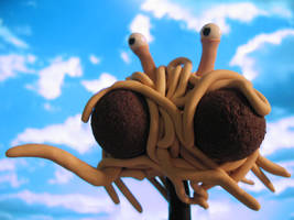 His Noodly Appendage by Arkhein
