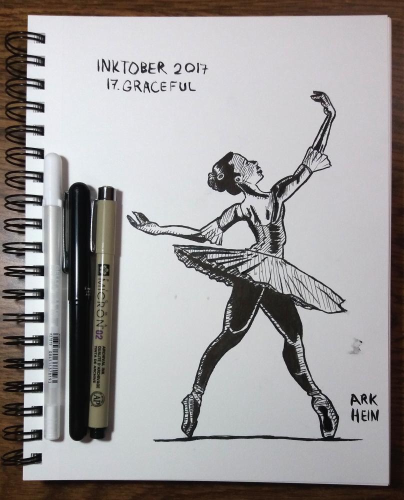 Inktober 2017 Day 17
