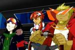 Megas XLR+Gurren cosplay style