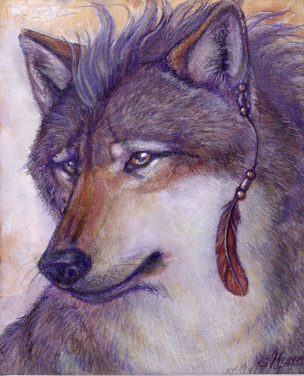 The Grey Shaman by WafflesMcCoy