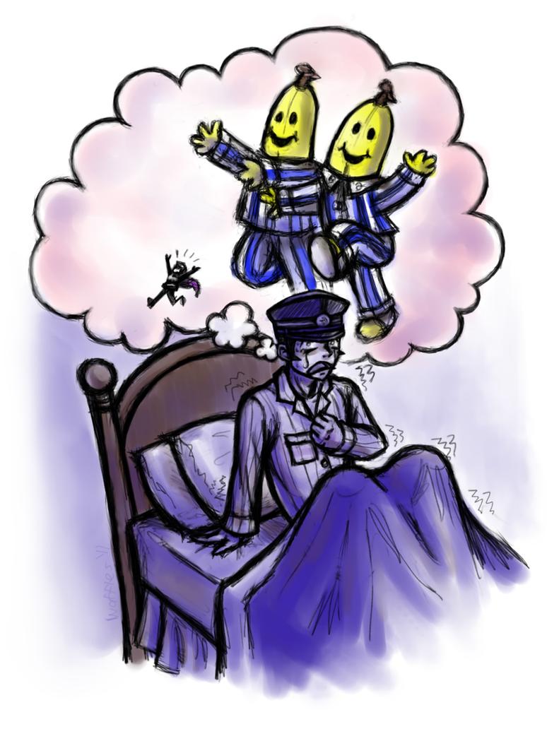 Raidou's Worst Nightmare by WafflesMcCoy