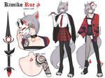 [ Ref Sheet - MYO ] Kimiko Rue