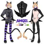 [ Ref Sheet ] Angel by chuupew