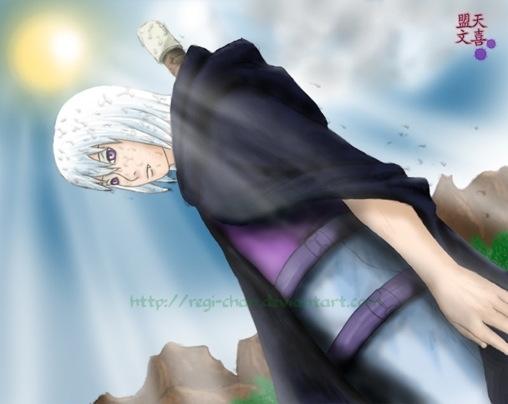 After the rain - Suigetsu by Regi-chan