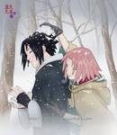 Snowfight - SasuSaku