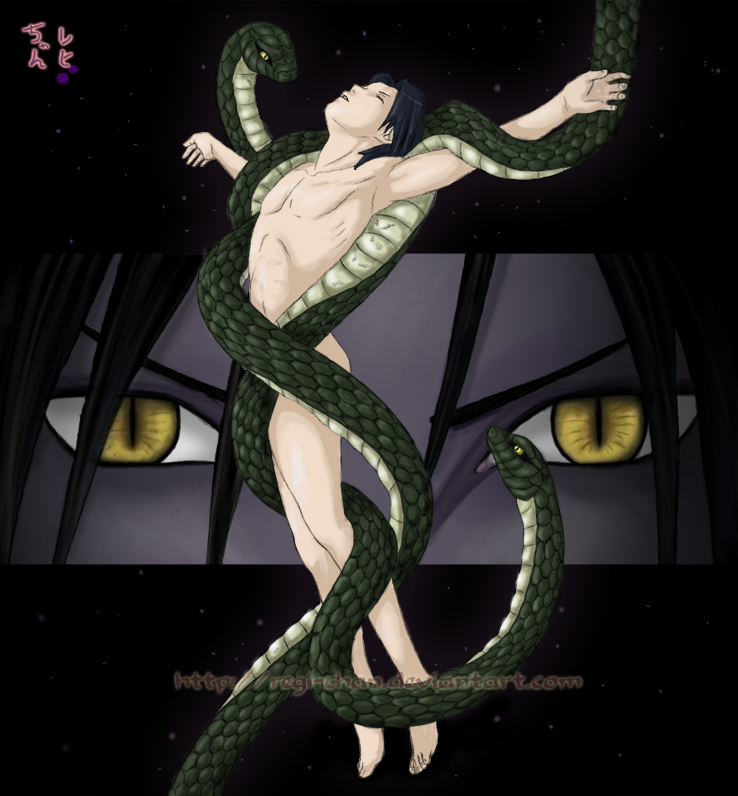 Orochimaru's desire -  Sasuke by Regi-chan
