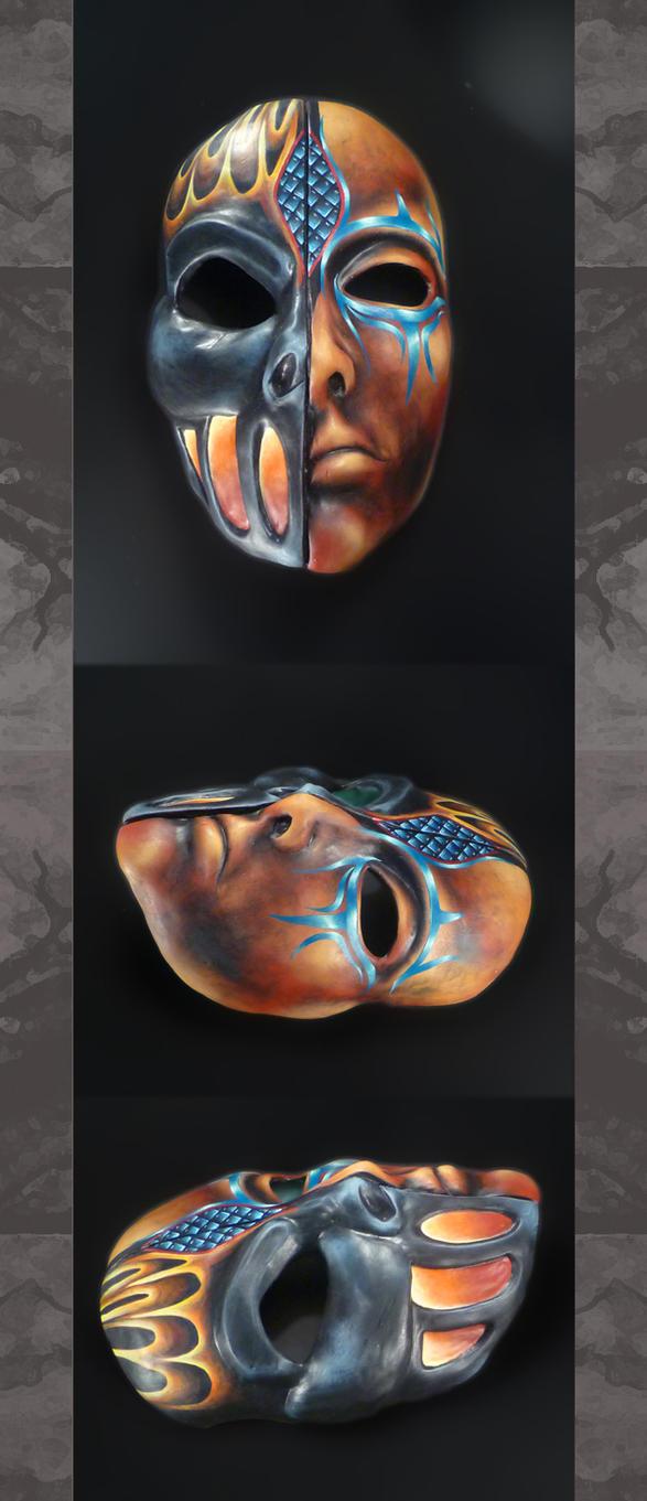 Eldar Harlequin Mask 02 by Halloween-Season