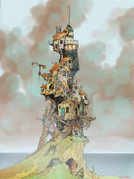 Lighthouse by Kansbar