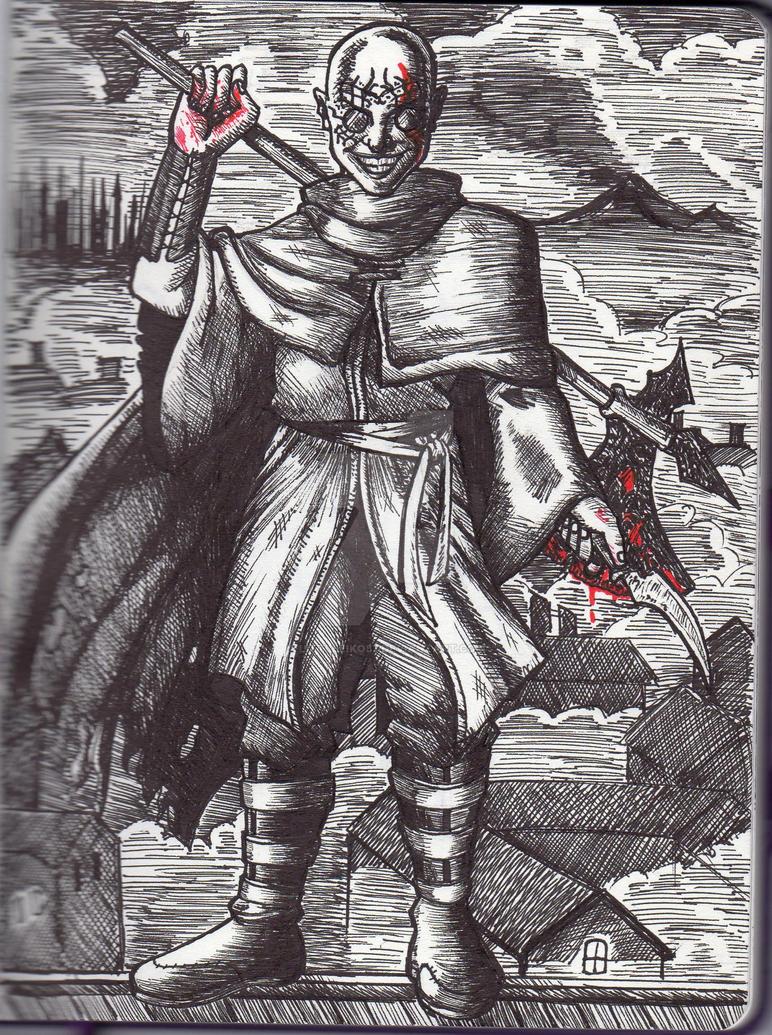 [Sketchbook] Mistborn: Steel Inquisitor by LittleEiko87