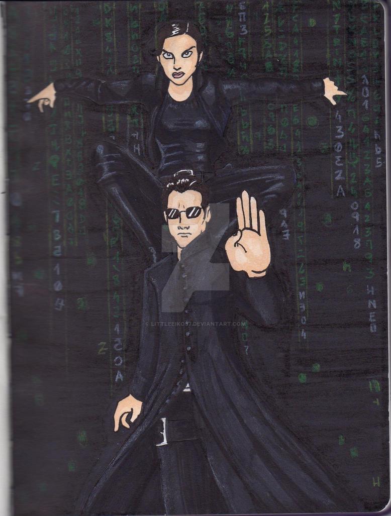 [Sketchbook] Enter the Matrix by LittleEiko87