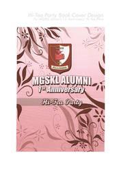 MGSKL Hi-Tea Party Cover