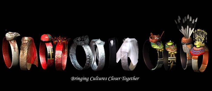 Wedding Rings 3D