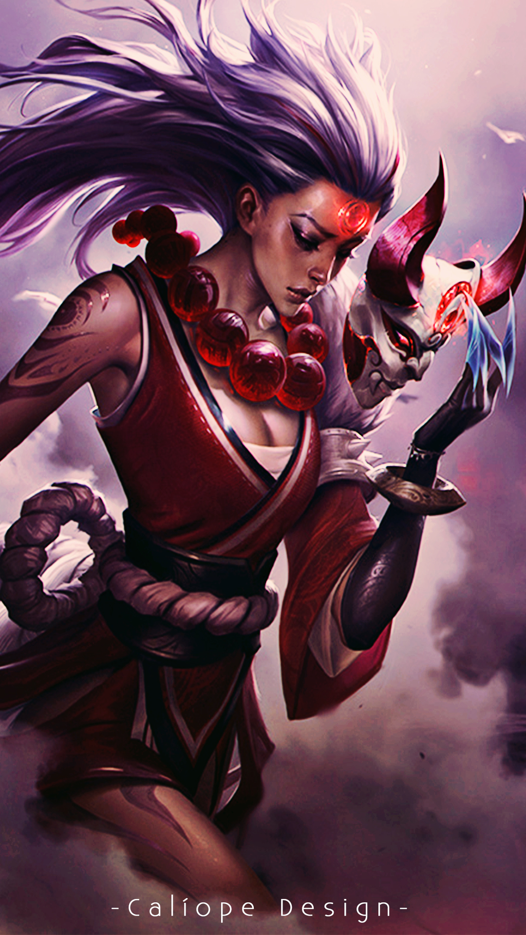 Wallpaper Para Celular Blood Moon Diana By Misscaliope On