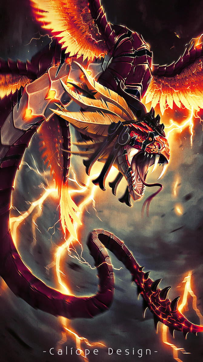 Wallpaper para celular kukulkan by misscaliope on deviantart for Wallpaper para celular