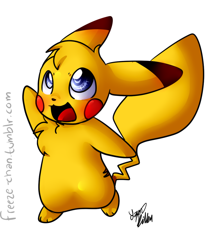 Chibi Wallpaper: Chibi Pikachu Wallpaper