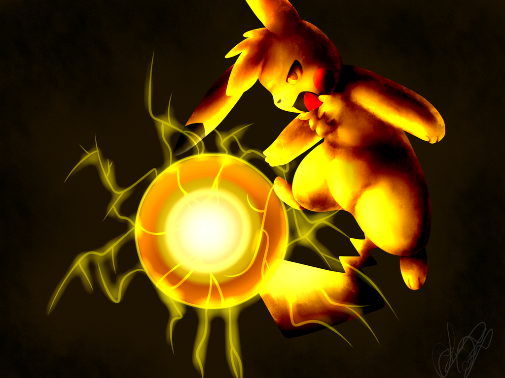 Pikachu used Electro ball by Freeze-pop88 on DeviantArt