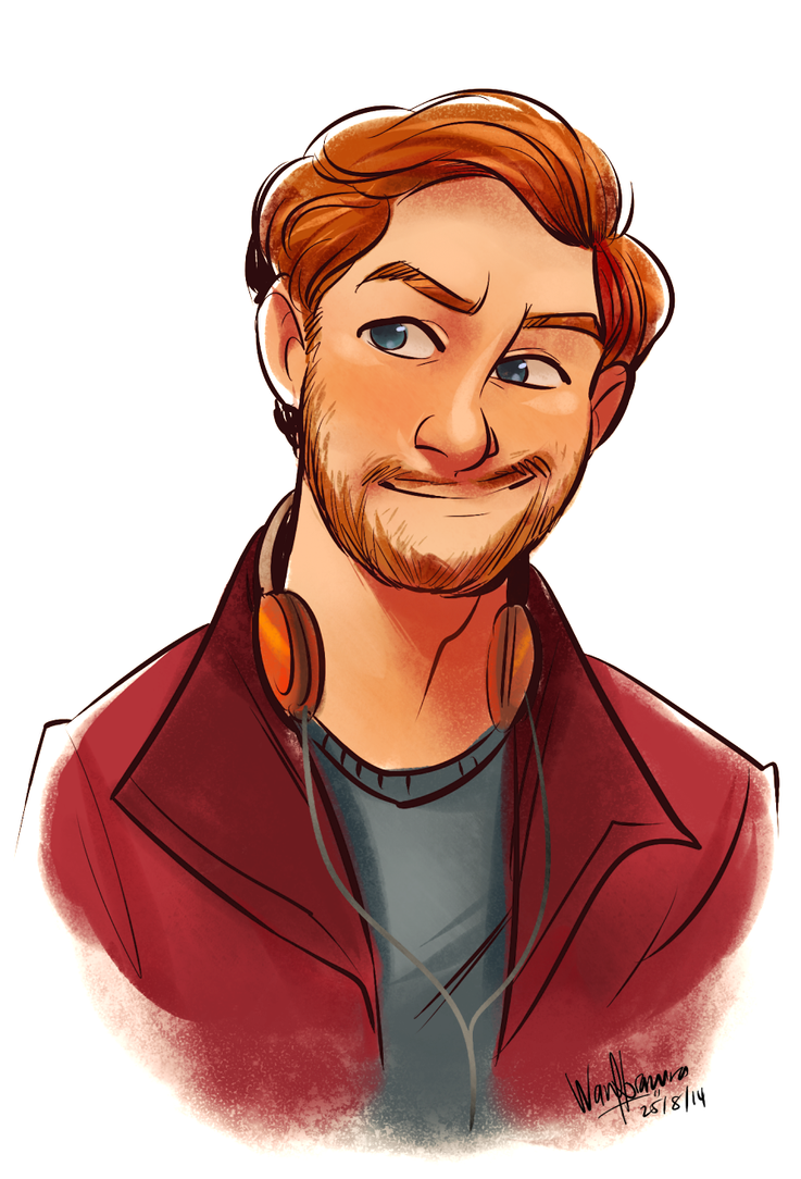 Cute Boy Character Design : Peter quill by wnorazura on deviantart