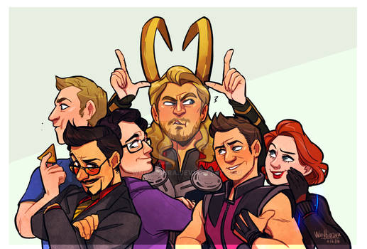 Avengers, Assemble?