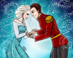 Elsa And Michael Snow Commission