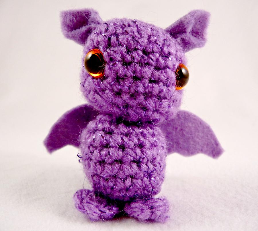 Cute purple Dragon - Kawaii Amigurumi Plushie by ...
