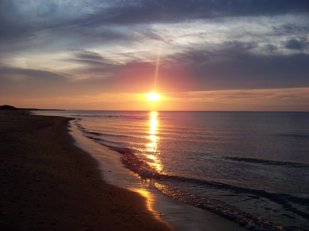 Prince Edward Island Sunset by Koto-ink
