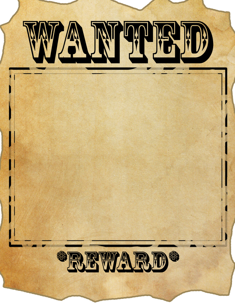 file name wanted poster meme by jut5star file name wanted poster ...: bestofpicture.com/blank-wanted-poster-png.html
