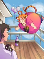 Muht, Phwop? by Kurama-chan! by BalloonPrincess