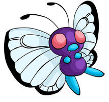 012. Butterfree by ChibiTigre