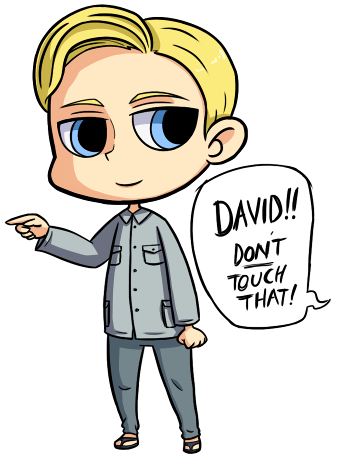 Prometheus: David by ChibiTigre