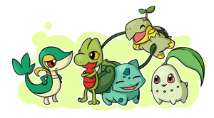 Pokemon Grass Starters