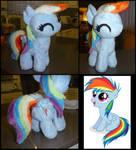 MLP: Rainbow Dash Filly Plush