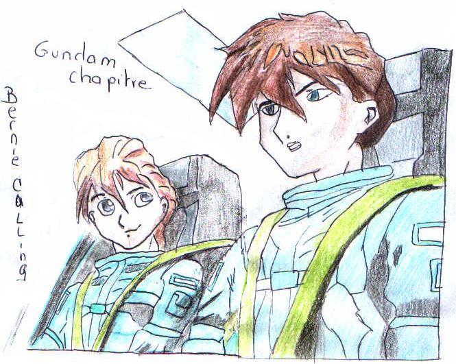 gundam chapitre