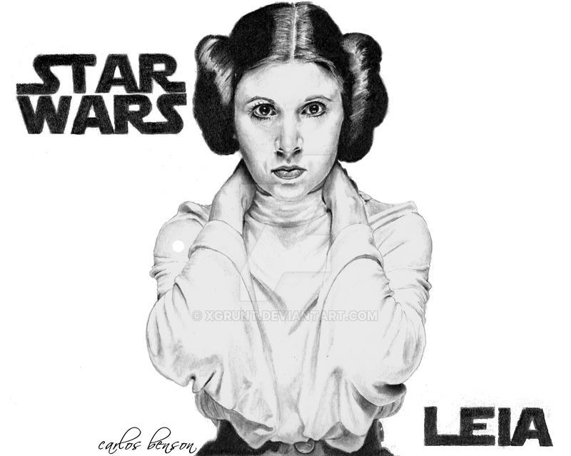 Princess Leia by Xgrunt
