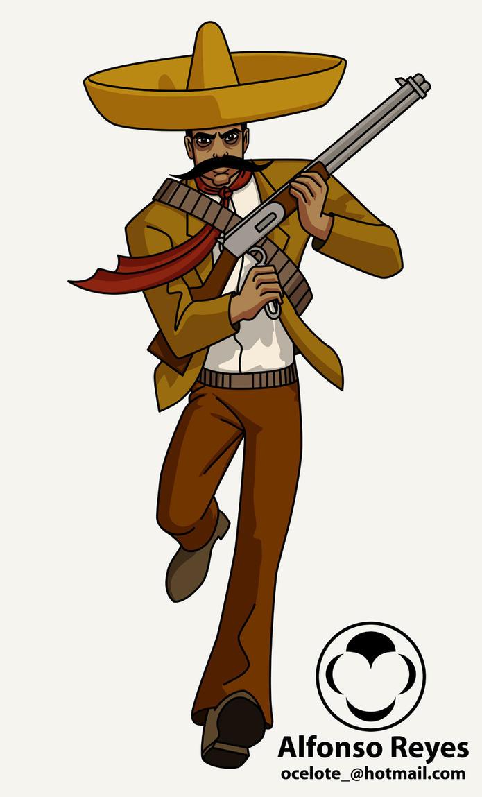 Emiliano Zapata by ocelotejaguar