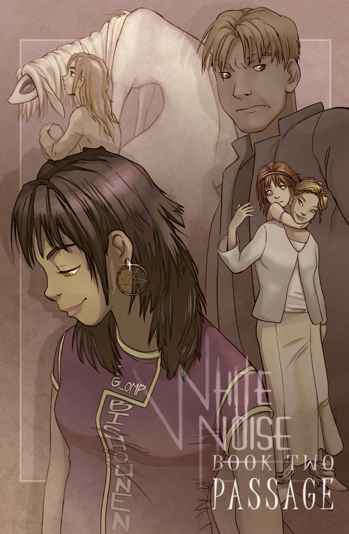 White Noise book two cover by Mad-Sniper