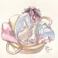 catboy in a basket by Mad-Sniper