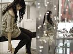 fashion at the mall ..........