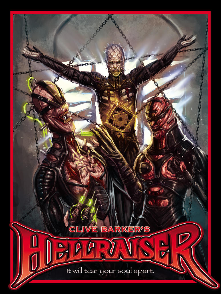 Hellraiser - Pinhead by Lampert on DeviantArt  Hellraiser Deviantart